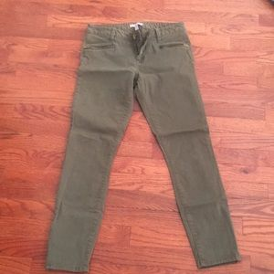 Banana Republic camo green pants
